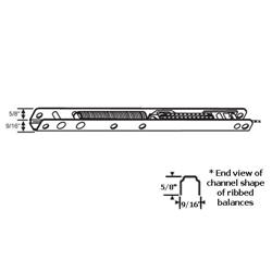 Window Channel Balance for Jambliners, Tilt, Stamped 24HD - 25