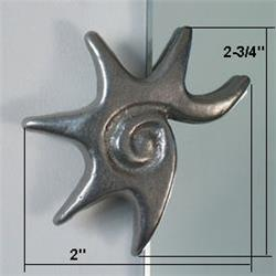 Star Designer Mirror Clips | Star Decorative Mirror Clips