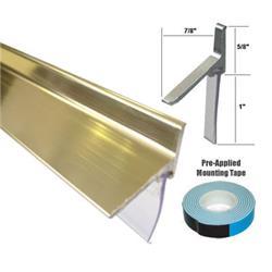 Framed Shower Door Replacement Drip Rail Chrome Framed